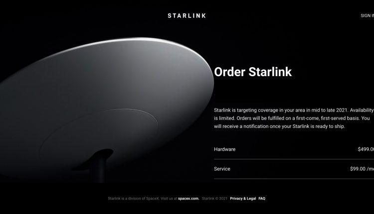 SpaceX Starlink Preorders Open Globally